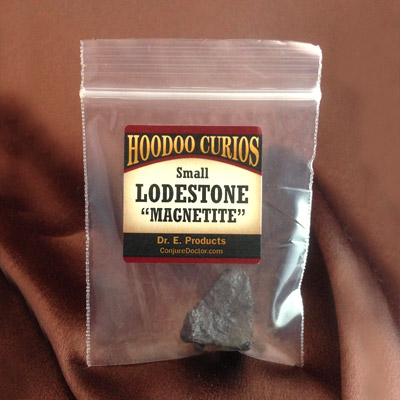 Lodestone, Small (0.5 inch, highly magnetic)