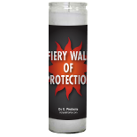 Fiery Wall of Protection Candle - Setting of Lights