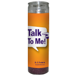 Talk to Me Candle - Setting of Lights